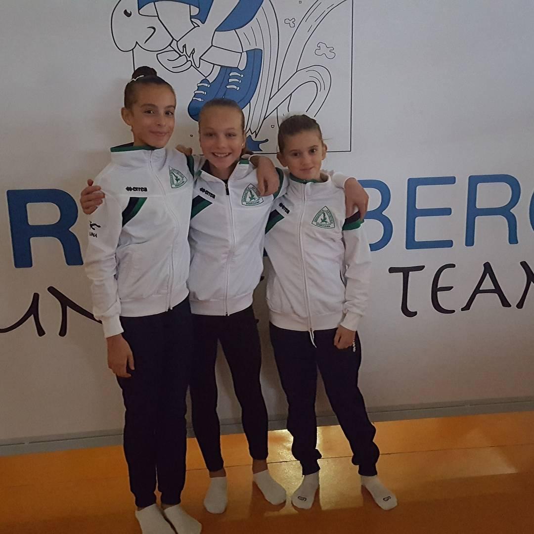 Squadra C3B ginnastica artistica veneziana gara regionale C 2017