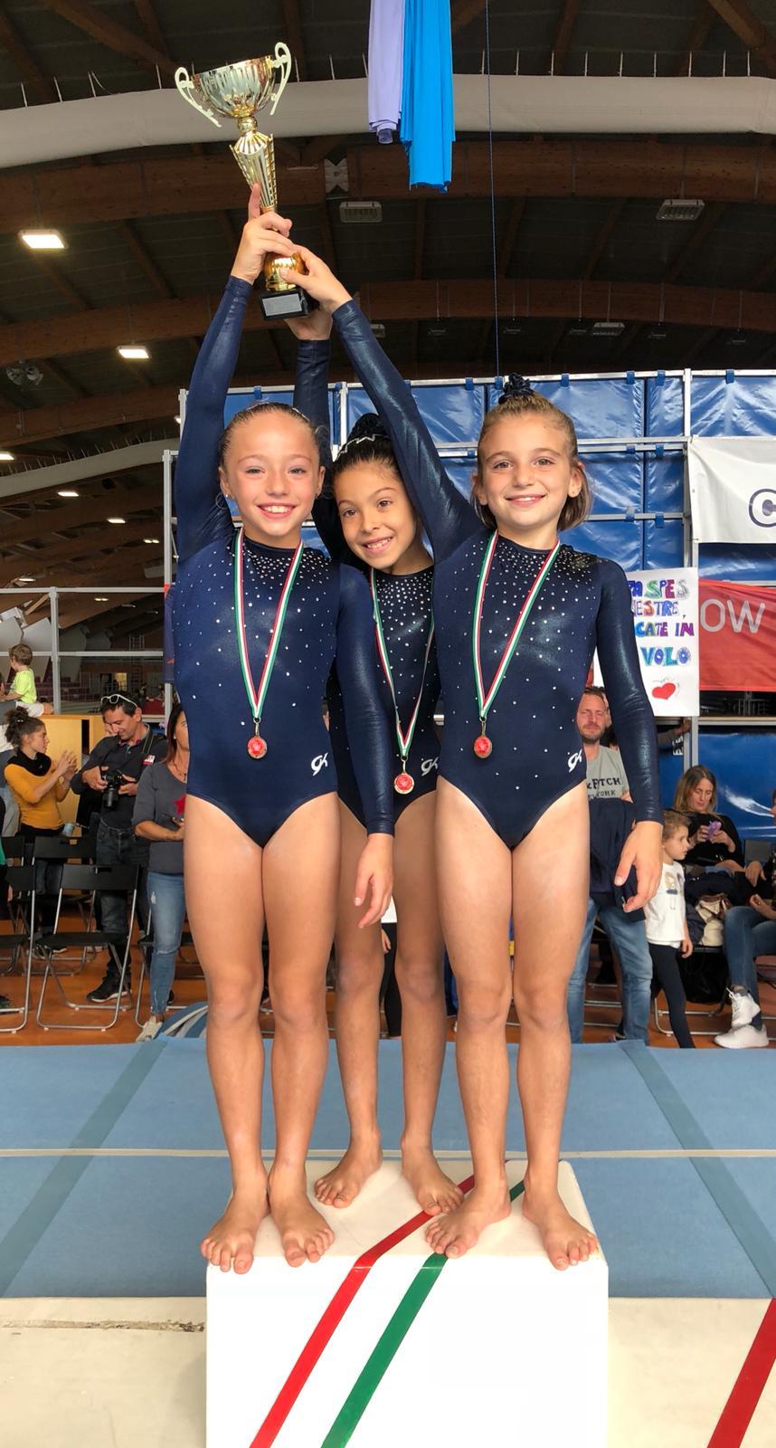 Campionesse regionali squadre Gold3a
