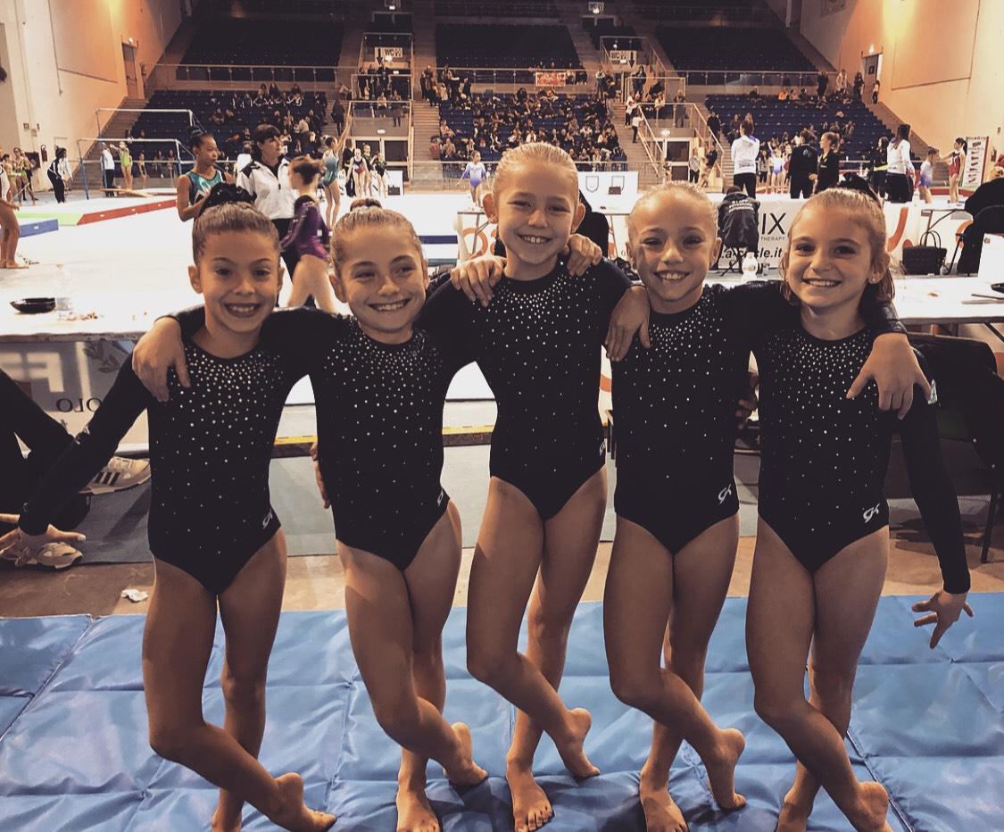 Rachele, Uma, Ambra, Emma e Sofia