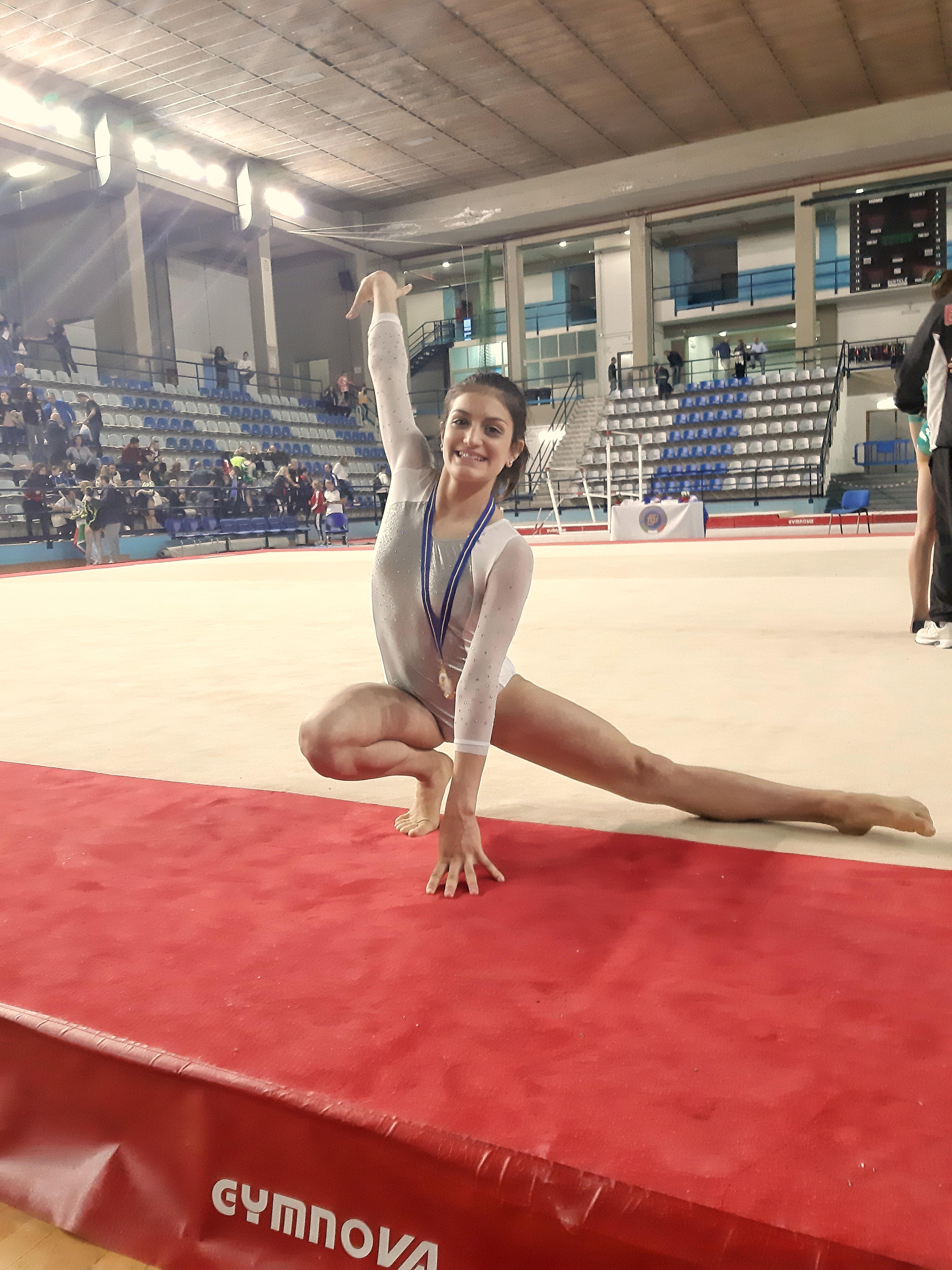 Mia Angiolin - Fase Nazionale campionato Gold ginnastica Artistica