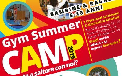Gym Summer Camp 2019 – Il Camp estivo di Ginnastica Artistica a Venezia