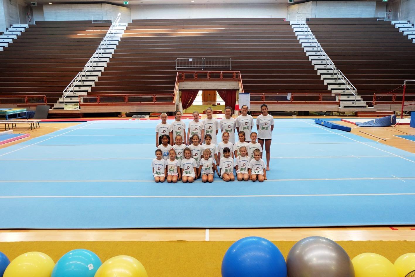 Gruppo di lavoro campp ginnastica artistica