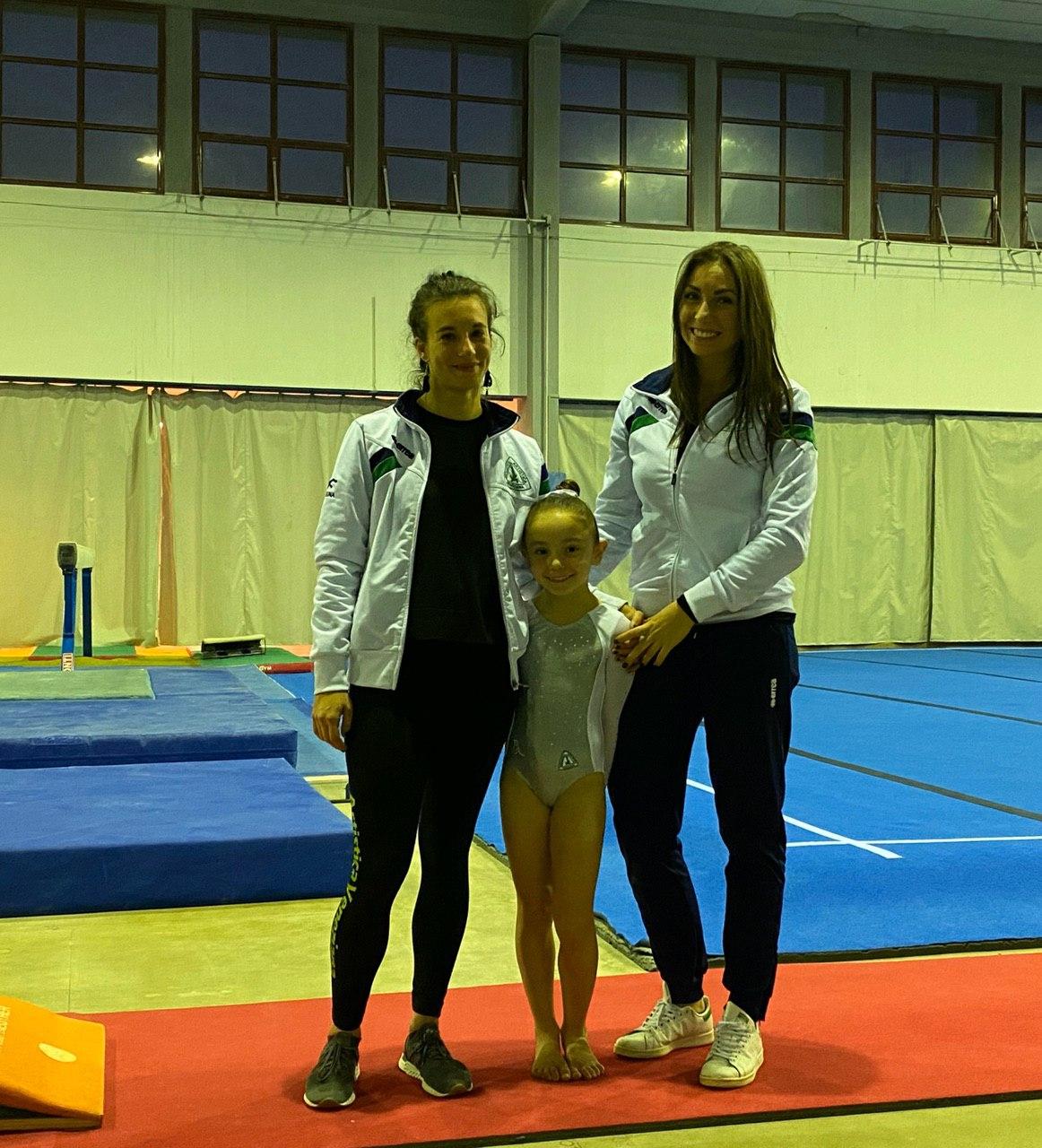 Vanessa Zanella CAMPIONATO INDIVIDUALE ALLIEVE GOLD